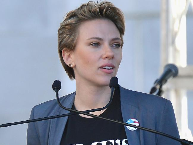 Scarlett Johansson has lent her support to feminist causes but has alienated some gender activists with her decision to play a transgender character. Picture: Chelsea Guglielmino/Getty Images)