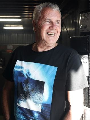Daryl Braithwaite is pumped. Picture: Luke Bowden