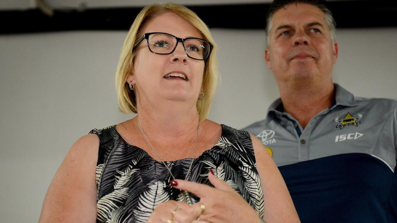 Minister for the department of communities, disability services and seniors Coralee O'Rourke.