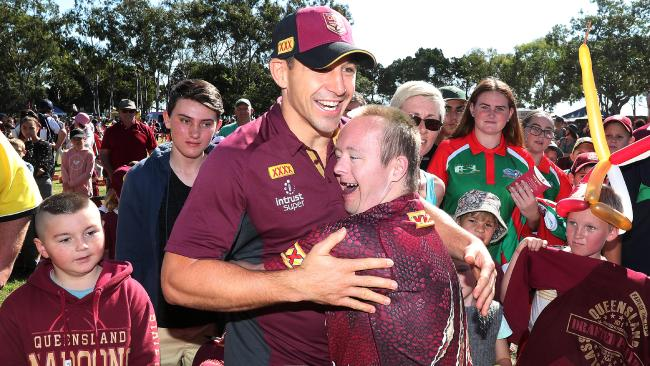 Queensland fans don't want to lose Slater. (Peter Wallis)
