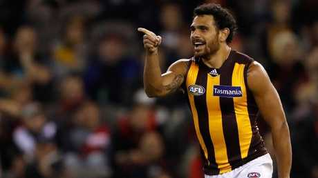 Cyril Rioli was Dermott Brereton's favourite player ever. Picture: AFL Media/Getty Images