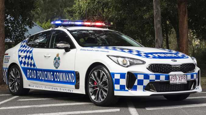 Queensland Police are poised to roll out 50 Kia Stinger highway patrol cars. Picture: Supplied.