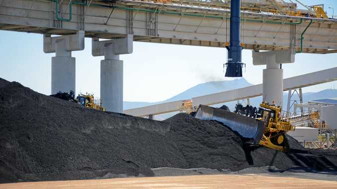 FLASHBACK: The first loads of bedding coal being delivered to the Wiggins Island Coal Export Terminal (WICET).