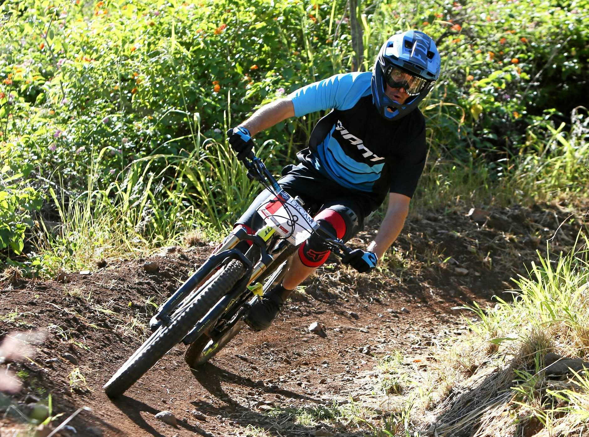 Joel Robinson will take on the trails on Sunday.