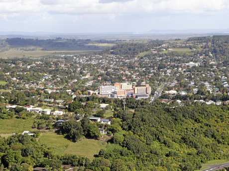 REGIONAL CENTRE: Lismore is the health, higher education, and business centre of the region. Photo Jay Cronan / The Northern Star