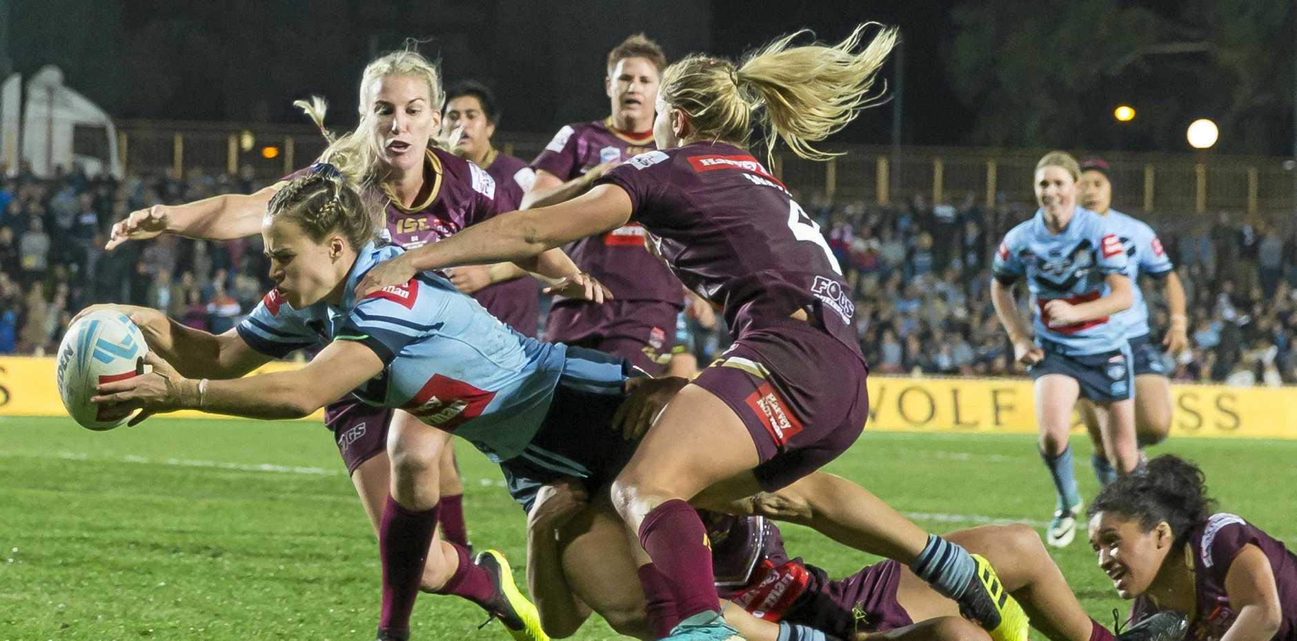 The Women's State of Origin was a cracking match, so Ashley Robinson is wondering why so many people focusing on the sexuality of the players instead.