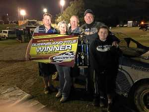 Weir caps off a strong season on dirt