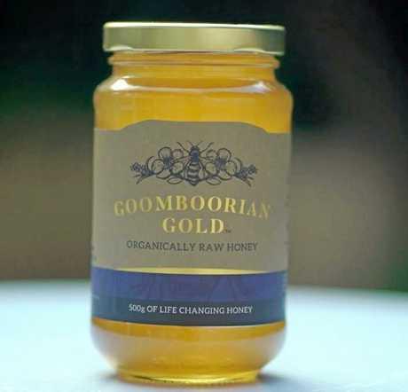 Goomboorian Gold honey.