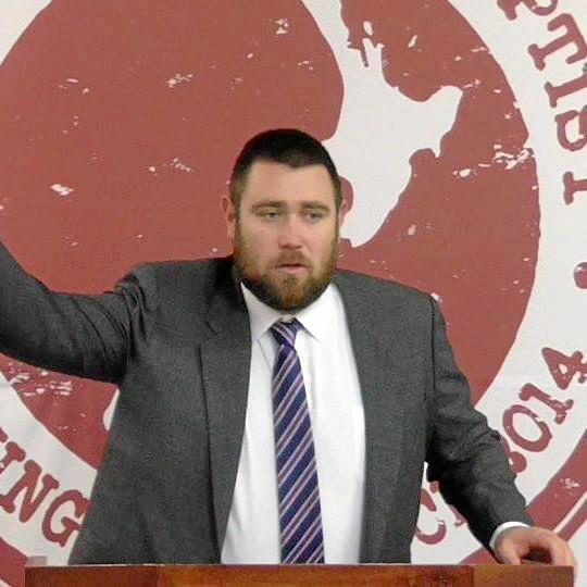 Pastor Logan Robertson.