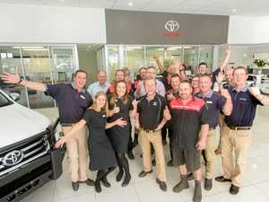 Toyota's team set for fun at South Grafton Cup
