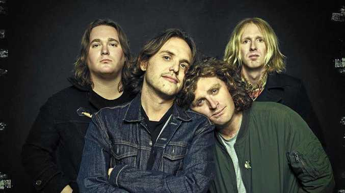 HEADLINERS: Australian Indie Rock Band British India are coming back to Byron Bay.