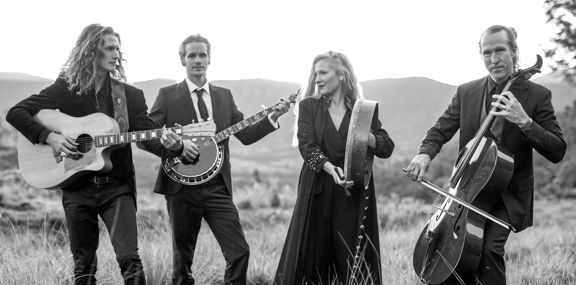 TWEED FAVOURITES: The Heart Collectors return to Tyalgum next Friday after touring Europe.
