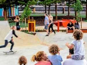 Young skaters need own skate space