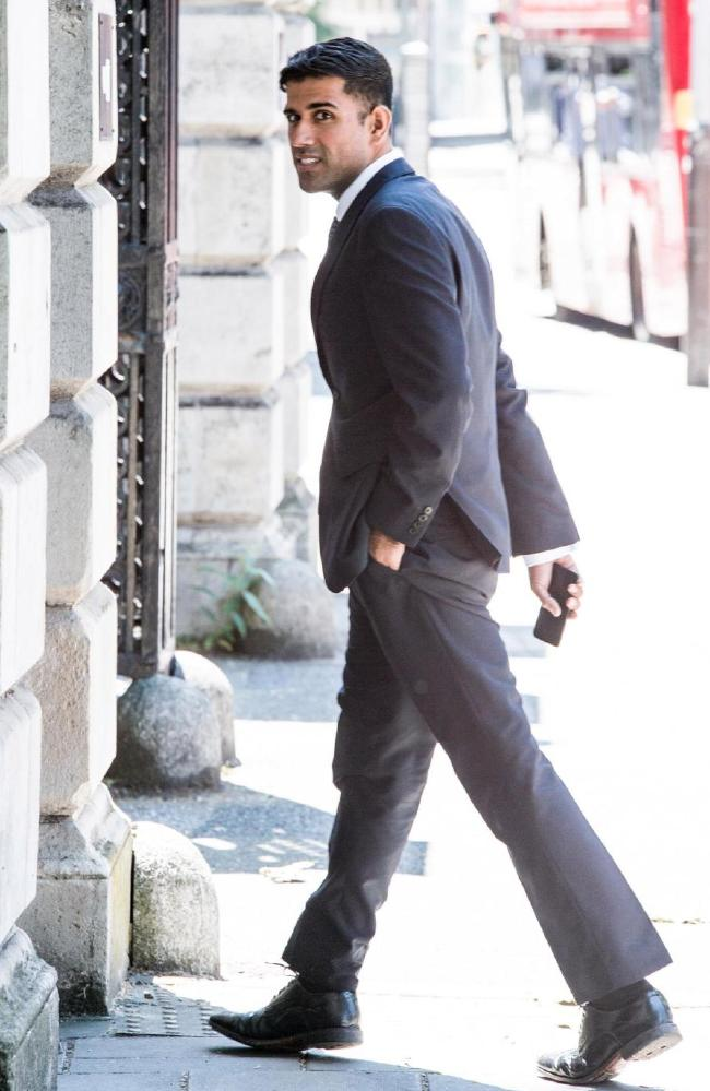Naker (pictured outside court during his trial) was found guilty of rape and sexual assault at Inner London Crown Court.