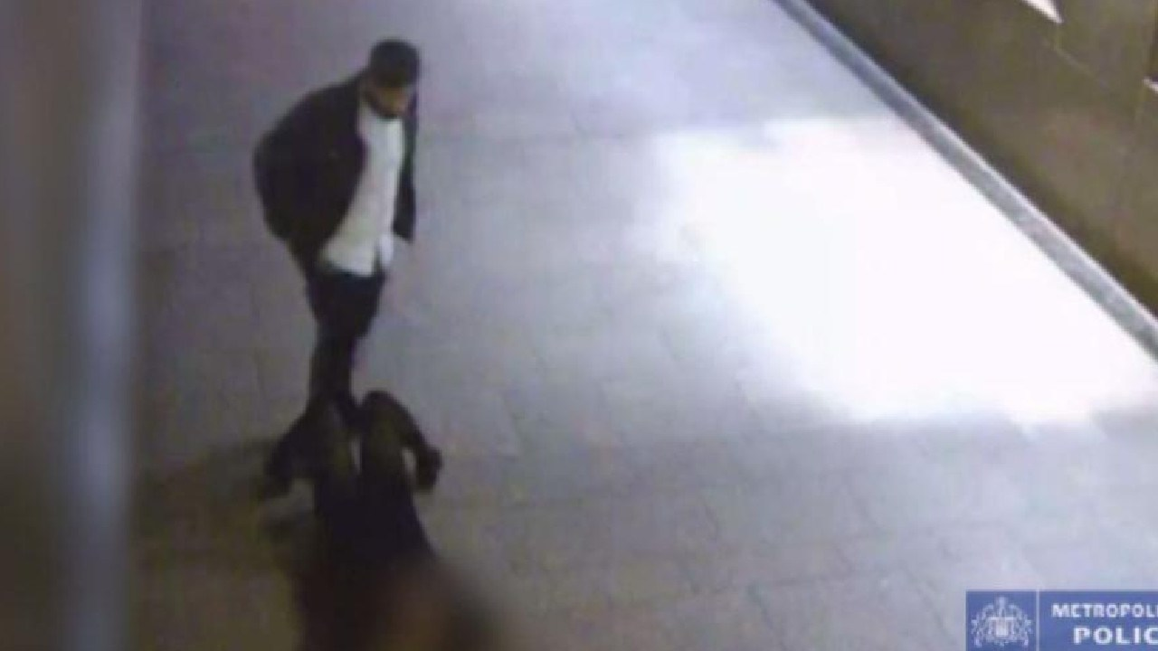 Footage shows him dropping his victim to the ground.