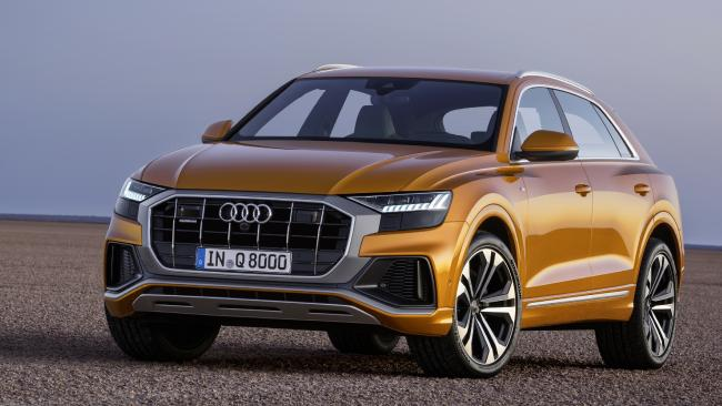Scale new heights: Audi Q8 is due in Australia next year at about $170K