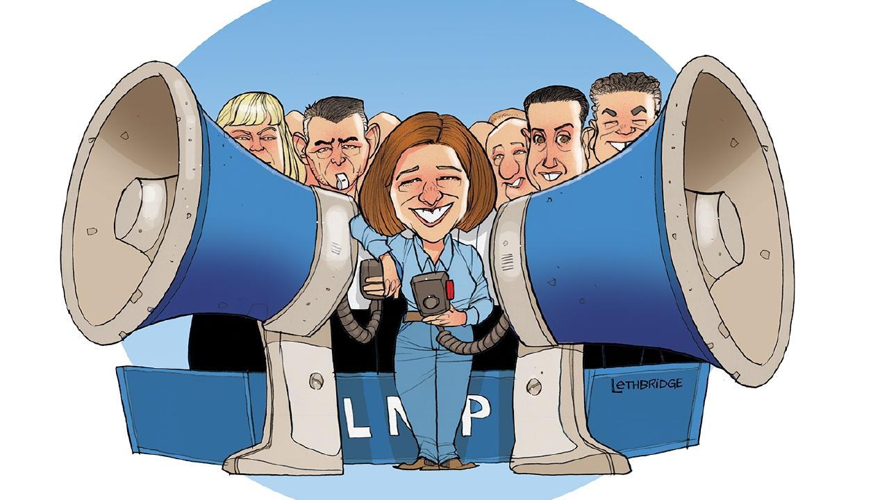 Brett Lethbridge illustration for Opposition report card.