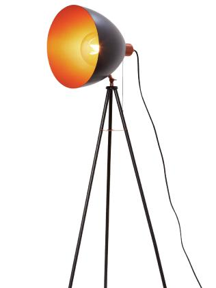 The Cooper Floor Lamp from Aldi is $50.