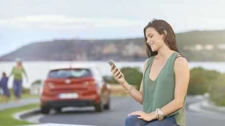 Soon Car Next Door users will be able to rent, access and drive new Hyundais with just a smartphone. (Photo: Supplied)