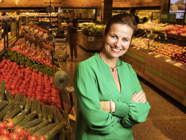 Woolworths boss Claire Peters said the supermarket was increasingly discounting its health products, including the Macro brand, to cater for customer demands. Picture: Hollie Adams/The Australian