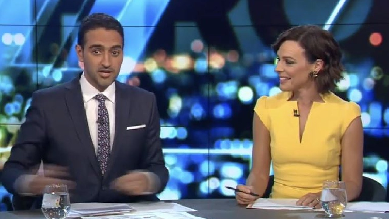 Waleed Aly. Picture: Channel 10