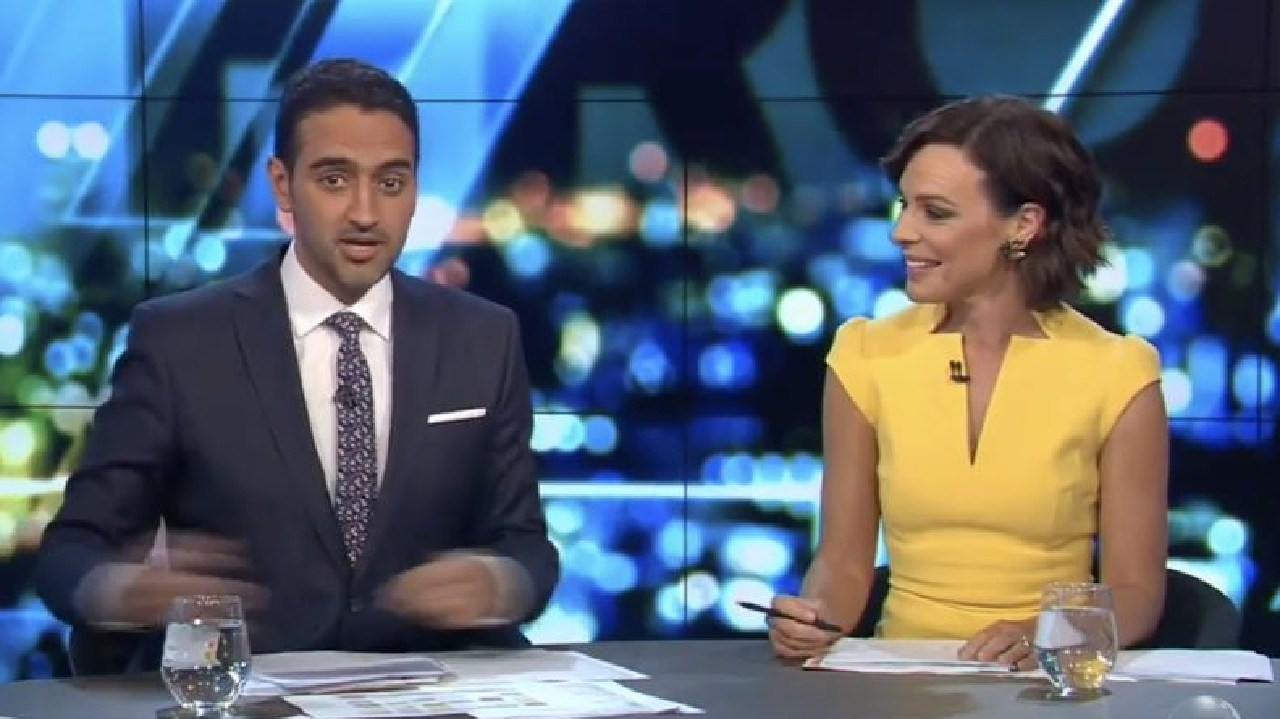 Waleed Aly said the charge for reusable bags should be a deterrent. Picture: Channel 10