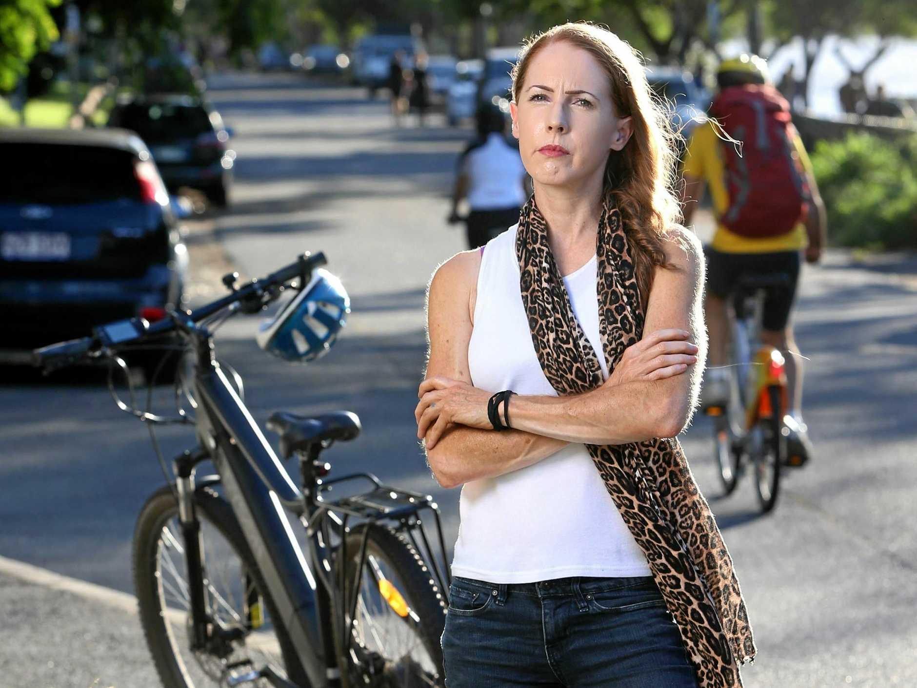 Bicycle Queensland CEO Anne Savage.