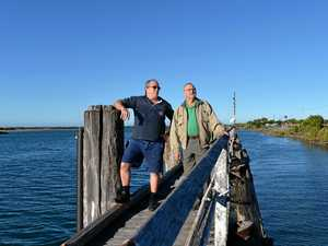 Mackay fishmonger and war hero have a special bond