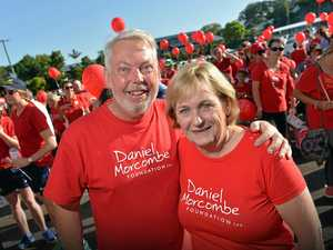 Painting the town red in one big walk for Daniel