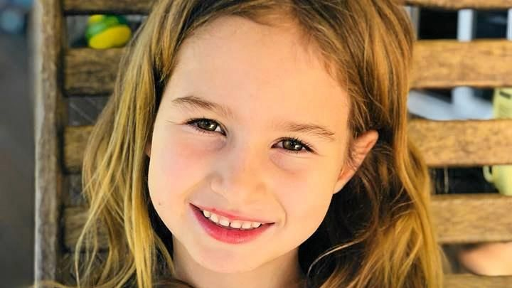 FLY HIGH: Six-year-old Indie Armstrong was struck by a reversing care and killed while standing at a pedestrian crossing in Nambour last month.