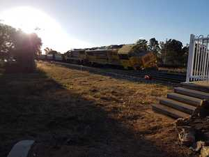 Police, QR officials on scene after train derails in Oakey