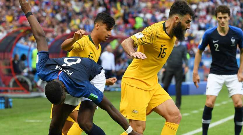 France have improved markedly since facing the Socceroos. Picture: AAP
