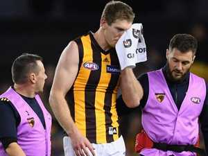Fractured cheekbone to sideline key Hawk