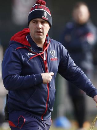Melbourne Rebels coach Dave Wessels. Picture: AAP