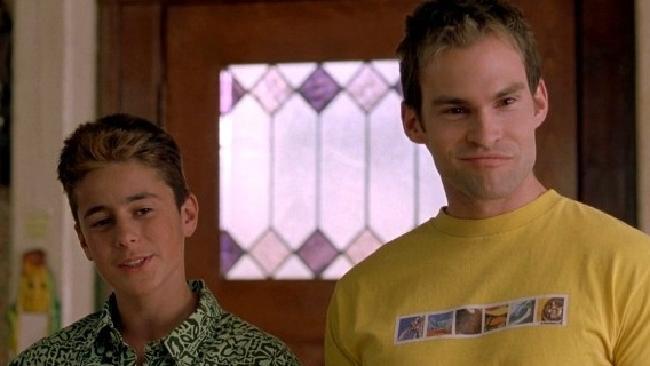 Eli Marienthal (left) played Stifler's creepy little brother Matt in American Pie.