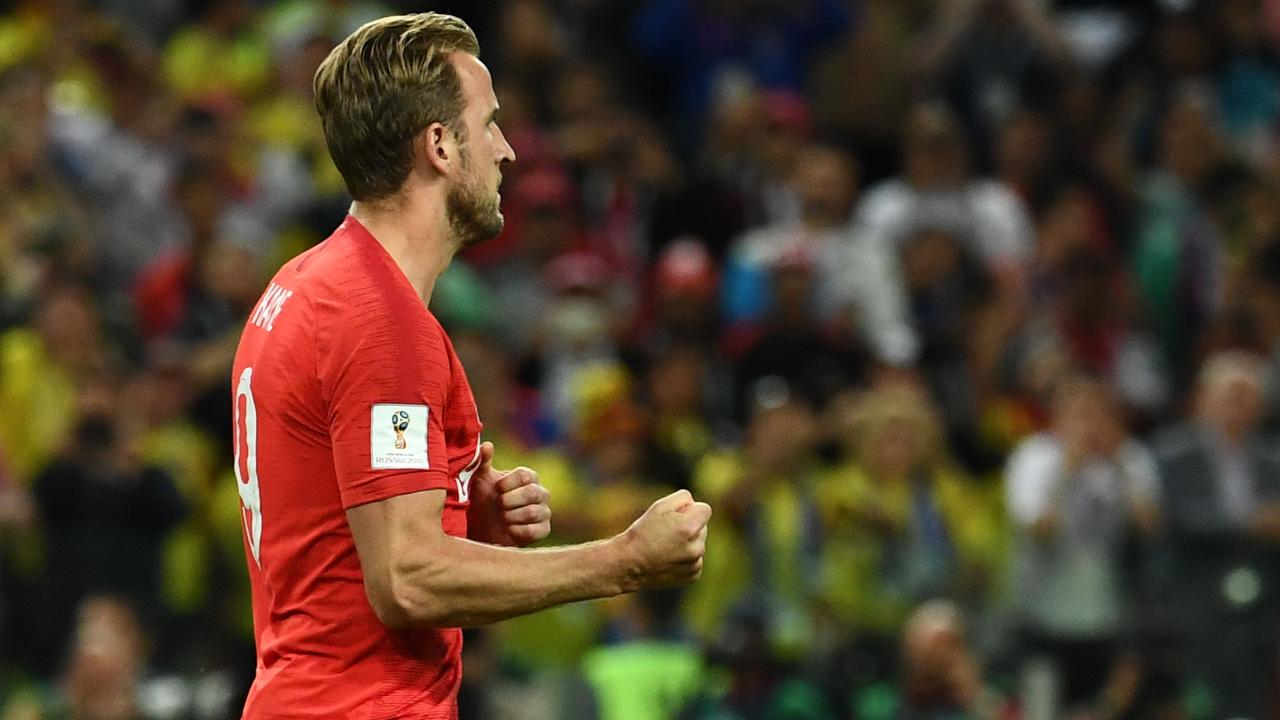 Can Harry Kane breach the Swedish defensive line? Picture: AFP.