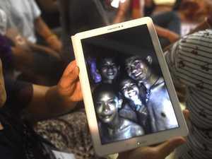 Downpour threatens boys' Thai cave rescue