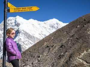 Aussie girl, 6, sets Everest record