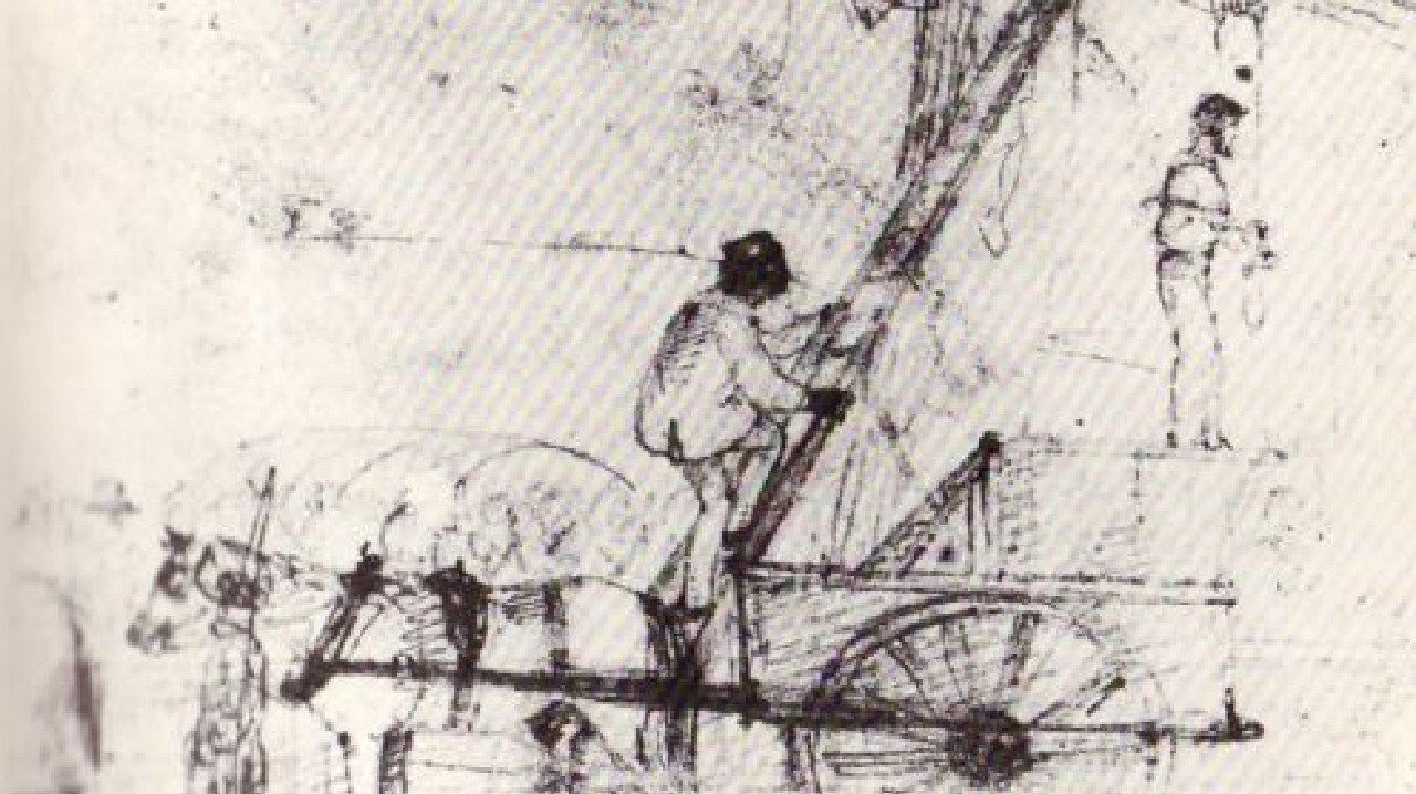 The hanging of Michael Magee is captured in a sketch by J. M. Skipper who witnessed the execution.