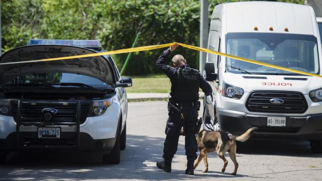 More human remains found on property linked to accused Canadian serial killer. Picture: Tijana Martin/The Canadian Press via AP