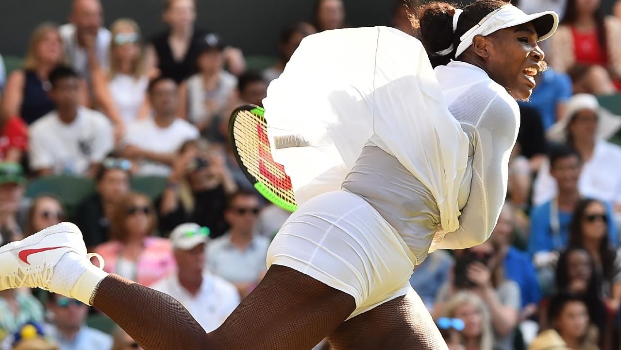Serena Williams is looking good for yet another Wimbledon title. Picture: AFP.