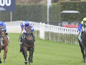 Corey shines as stayer shows class, Waller filly impresses