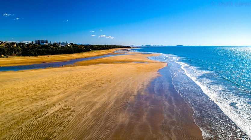 HIDDEN TREASURE: Matt Cann's winning picture of Tannum Sands Beach will be featured on a billboard on the Bruce Highway.