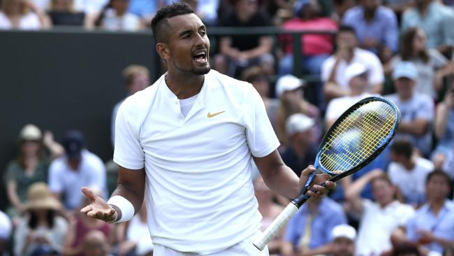 Nick Kyrgios was out of answers.