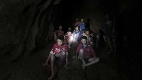 "Conditions are ""perfect"" to rescue the cave-trapped Thai soccer team, a rescue official has said."