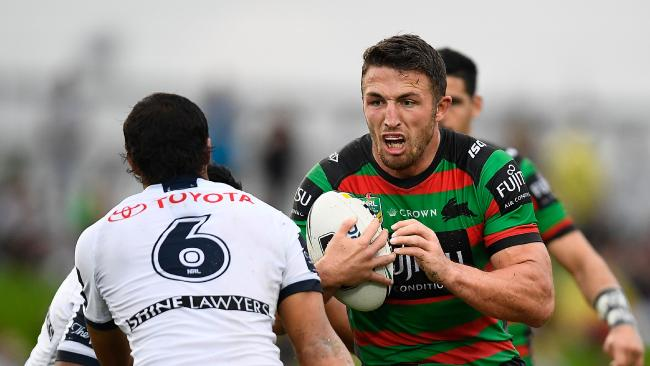 Should the likes of Sam Burgess be welcomed into Origin? Photo by Ian Hitchcock/Getty Images.