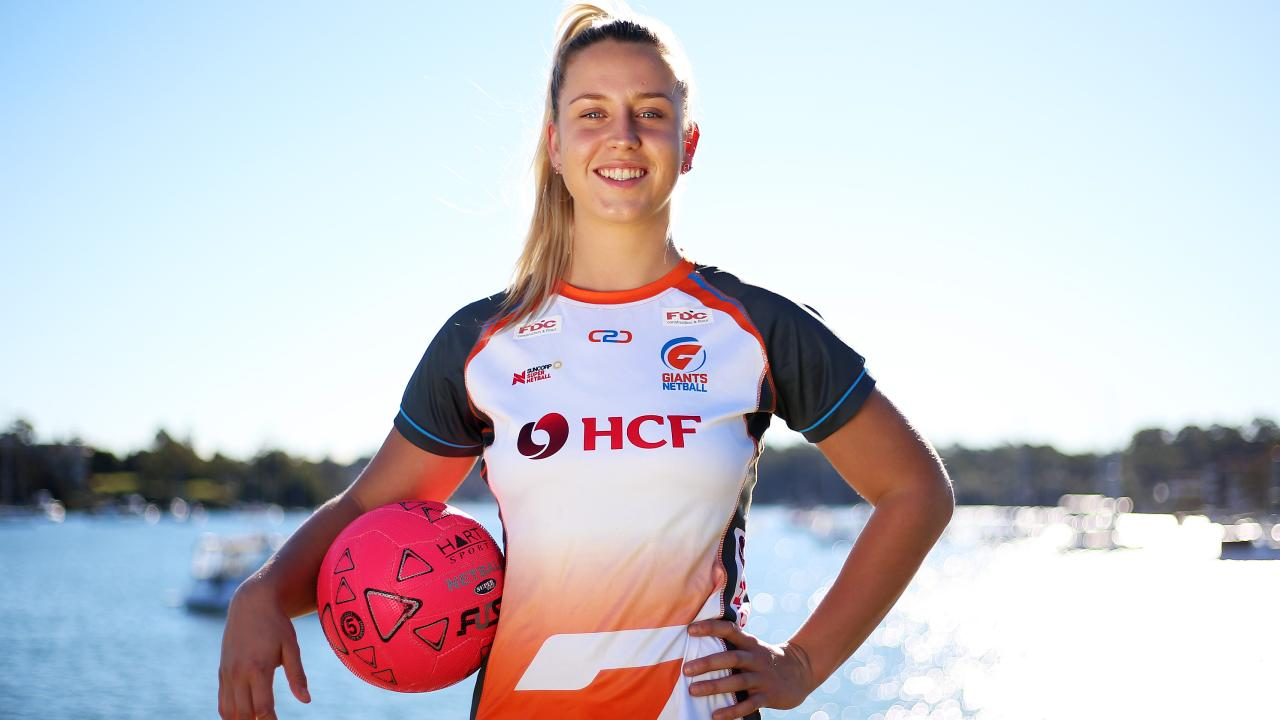 Giants star Jamie-Lee Price is gearing up for Sunday's derby against the Swifts. Picture: Sam Ruttyn