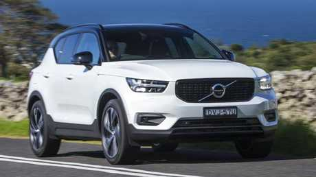 The XC40 features a spritely engine.