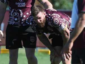 McGuire cleared after major training scare