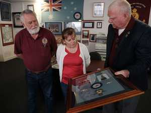 Veterans remember one of their own at intimate ceremony